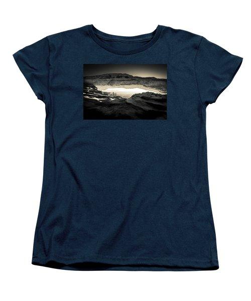 Women's T-Shirt (Standard Cut) featuring the photograph Ancient View by Kristal Kraft