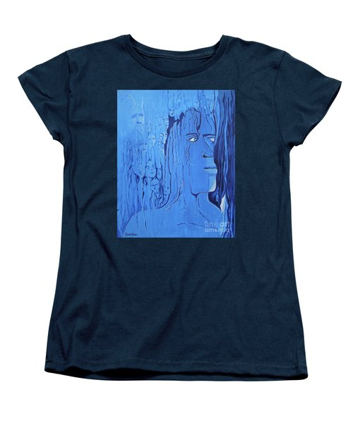 Women's T-Shirt (Standard Cut) featuring the painting And If You Feel by Stuart Engel