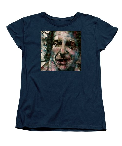 Women's T-Shirt (Standard Cut) featuring the painting And She Feeds You Tea And Oranges That Come All The Way From China  by Paul Lovering