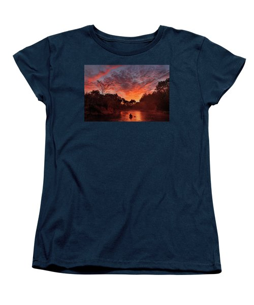 And The Day Begins Women's T-Shirt (Standard Cut) by Robert Charity