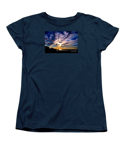 And Then There Was God Women's T-Shirt (Standard Cut) by Margie Amberge