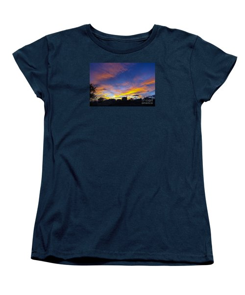 Andalusian Sunset Women's T-Shirt (Standard Cut) by Perry Van Munster