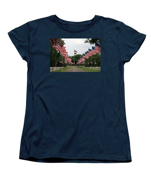 Andersonville National Cemetery Women's T-Shirt (Standard Cut) by Jerry Battle