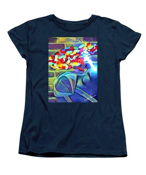 Anesthetized  Women's T-Shirt (Standard Cut) by Vennie Kocsis