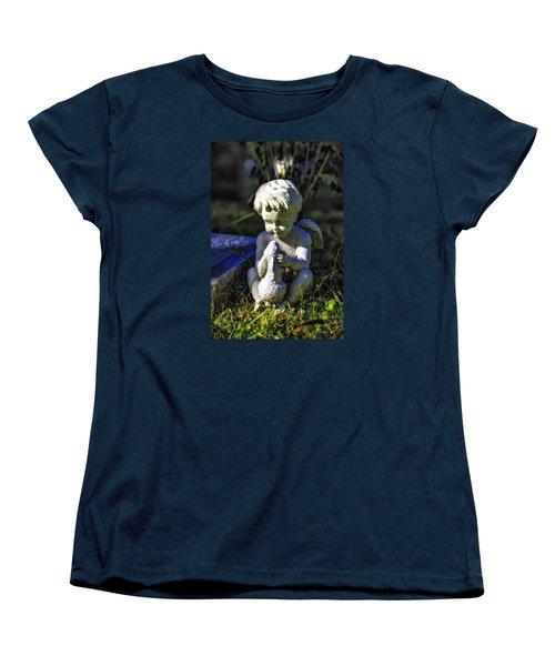 Angel 001 In Hdr Women's T-Shirt (Standard Cut) by Michael White