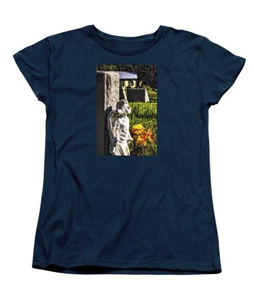 Angel 010 Women's T-Shirt (Standard Cut) by Michael White