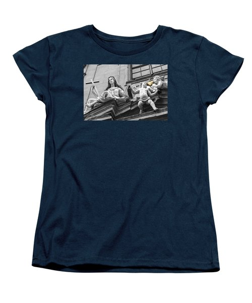 Women's T-Shirt (Standard Cut) featuring the photograph Angel Heart by Sonny Marcyan