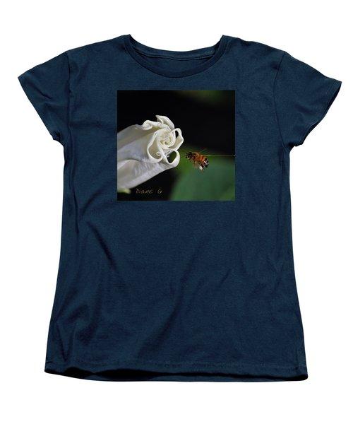Angel Trumpet Women's T-Shirt (Standard Cut) by Diane Giurco