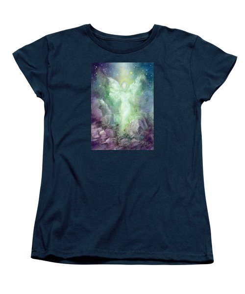 Angels Journey Women's T-Shirt (Standard Cut) by Marina Petro