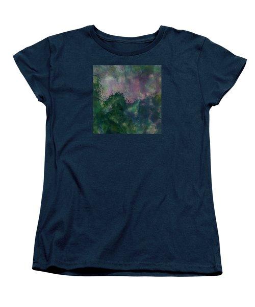 Angry Ocean Women's T-Shirt (Standard Cut) by Alan Casadei