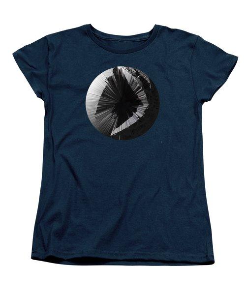 Angst IIi Painting As A Spherical Depth Map. 2 Women's T-Shirt (Standard Cut) by Paul Davenport
