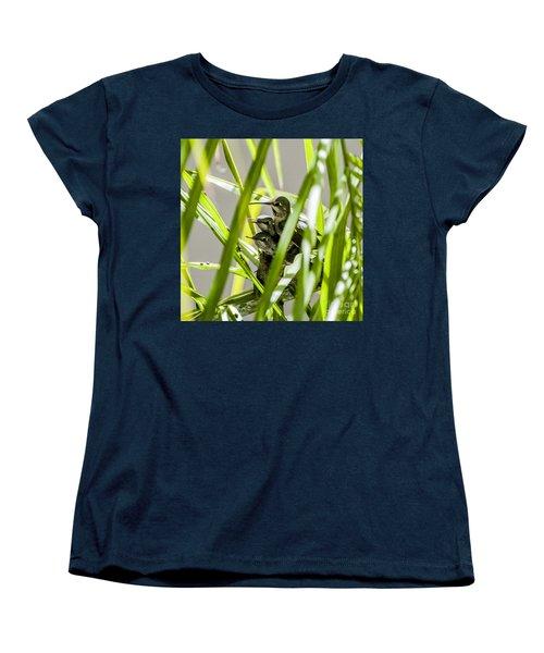 Anna Hummer On Nest Women's T-Shirt (Standard Cut)