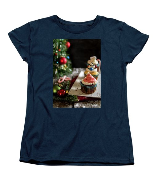 Women's T-Shirt (Standard Cut) featuring the photograph Another Christmas To Remember by Deborah Klubertanz