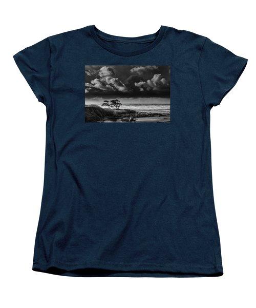 Women's T-Shirt (Standard Cut) featuring the photograph Another Day At Kalaloch Beach by Dan Mihai
