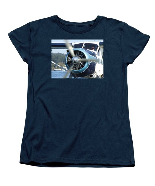 Women's T-Shirt (Standard Cut) featuring the photograph Another Day At The Office by Mark Alan Perry