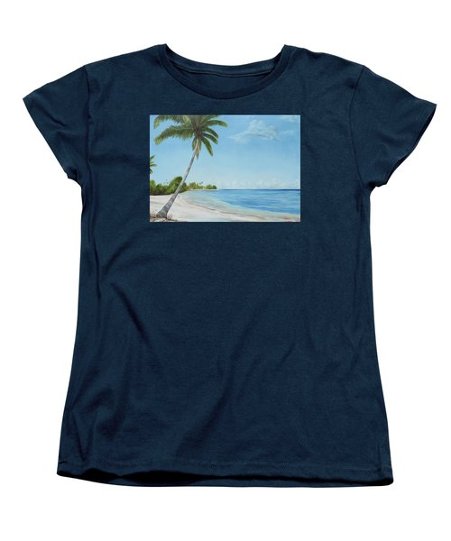 Another Day In Paradise Women's T-Shirt (Standard Cut) by Lloyd Dobson