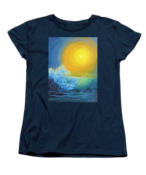 Women's T-Shirt (Standard Cut) featuring the painting Another Sun by Karen Ilari