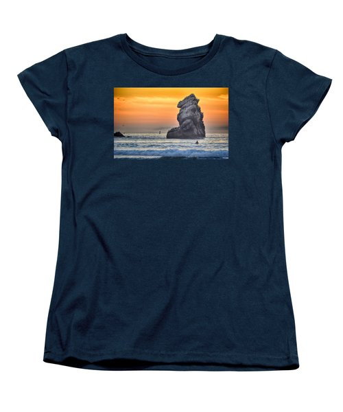 Another World Women's T-Shirt (Standard Cut) by AJ Schibig