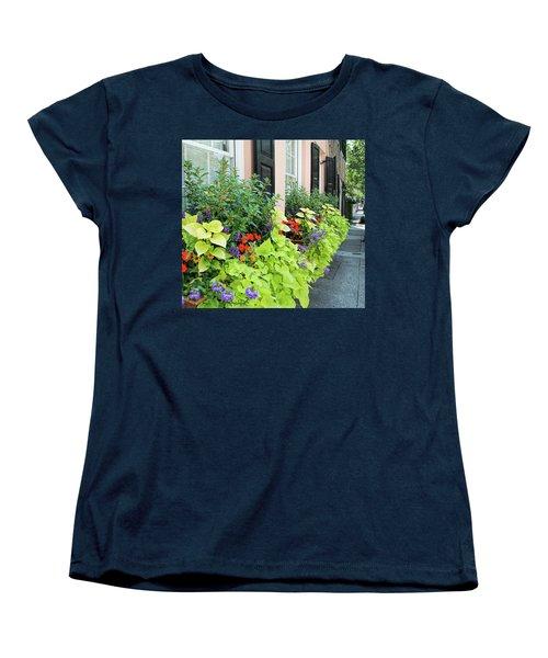 Anson St. Women's T-Shirt (Standard Cut) by Ed Waldrop