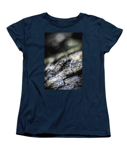 Dynamic Women's T-Shirt (Standard Cut) by Hyuntae Kim