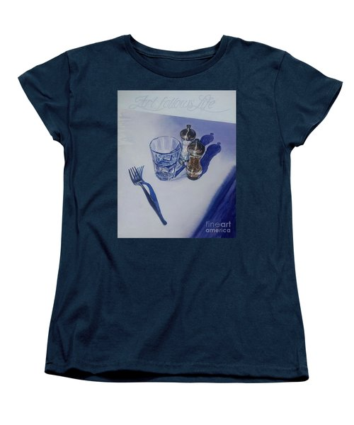 Women's T-Shirt (Standard Cut) featuring the painting Anticipation by Sandra Phryce-Jones