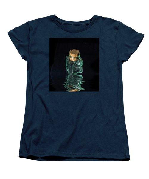 Antique Glass Bottle Women's T-Shirt (Standard Cut)