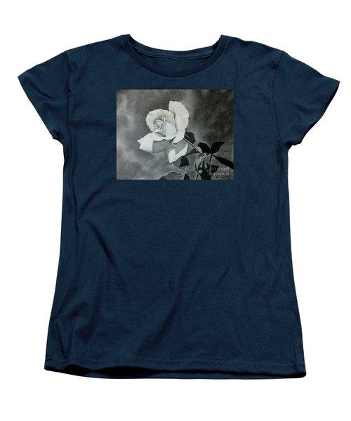 Aperitif Rose Women's T-Shirt (Standard Cut) by Terri Mills
