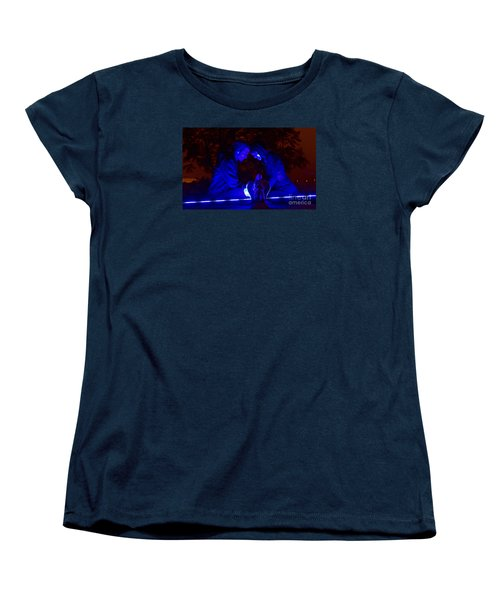 Women's T-Shirt (Standard Cut) featuring the photograph Apocalyptic Love by Xn Tyler