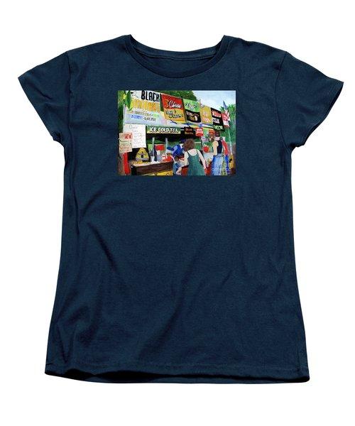 Appalachian Picnic Women's T-Shirt (Standard Cut) by Sandy McIntire