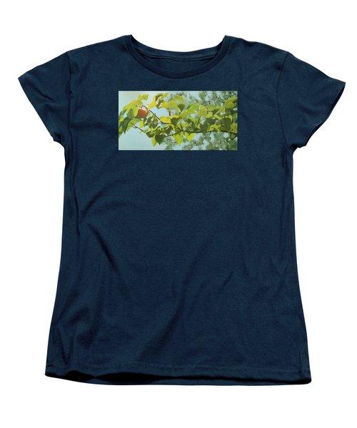 Apple A Day Women's T-Shirt (Standard Cut)