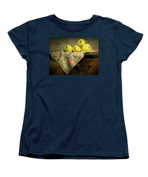 Women's T-Shirt (Standard Cut) featuring the photograph Apple Cloth by Diana Angstadt