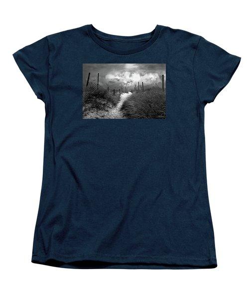 Approaching Storm Women's T-Shirt (Standard Cut) by John Rivera