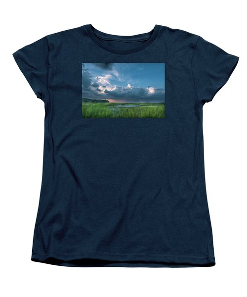 Women's T-Shirt (Standard Cut) featuring the photograph Approaching Storm by Phyllis Peterson