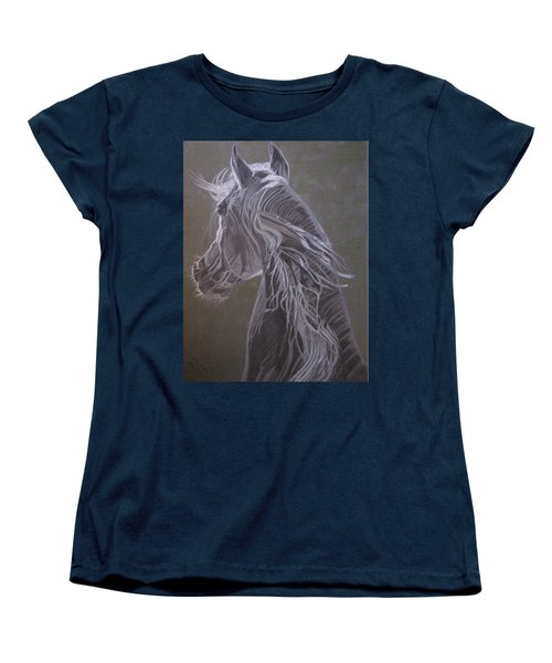 Arab Horse Women's T-Shirt (Standard Cut) by Melita Safran