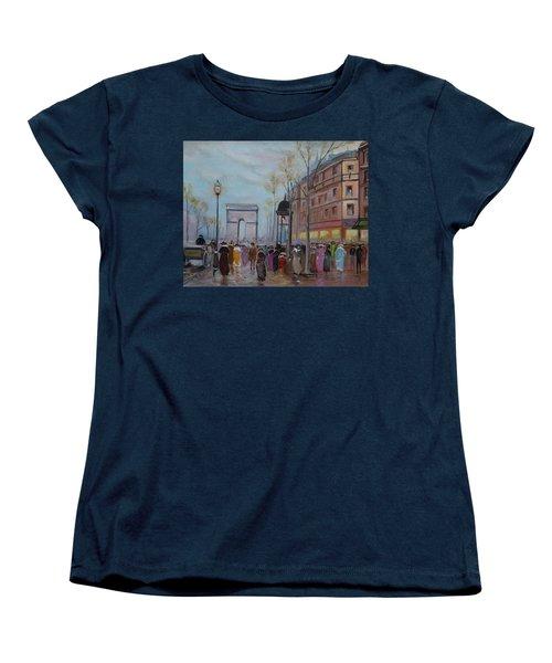 Arc De Triompfe - Lmj Women's T-Shirt (Standard Cut) by Ruth Kamenev