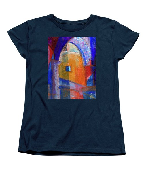Arches And Window Women's T-Shirt (Standard Cut) by Walter Fahmy