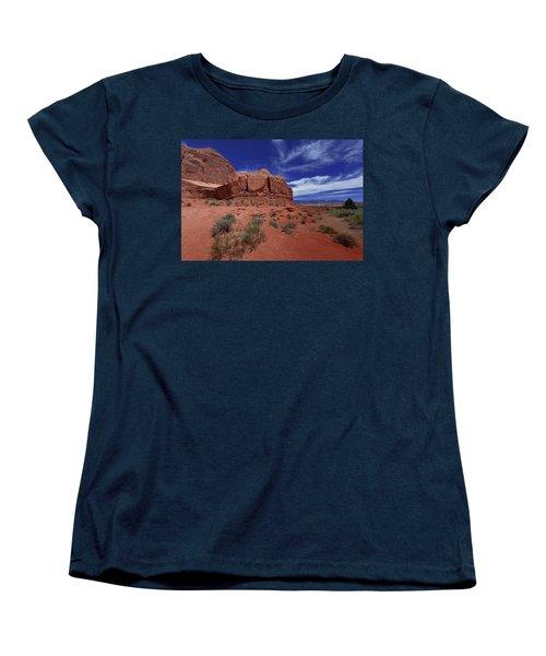 Arches Scene1 Women's T-Shirt (Standard Cut)
