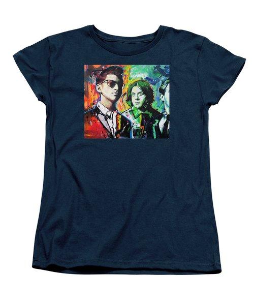 Arctic Monkeys Women's T-Shirt (Standard Cut) by Richard Day