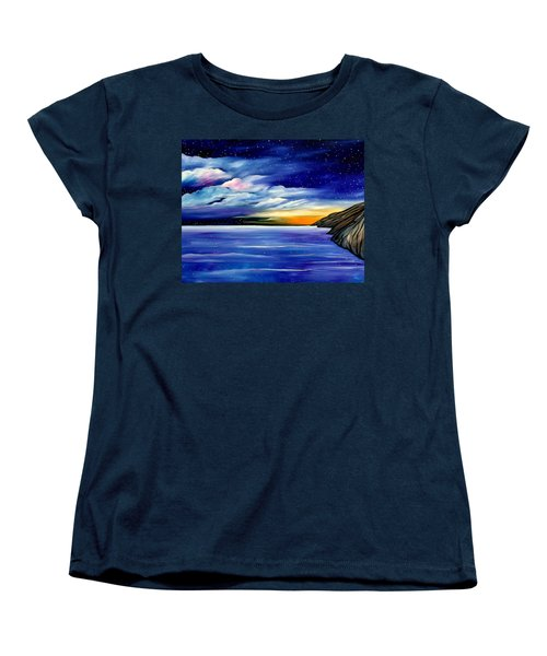 Are The Stars Out Tonight Women's T-Shirt (Standard Cut) by Lisa Aerts