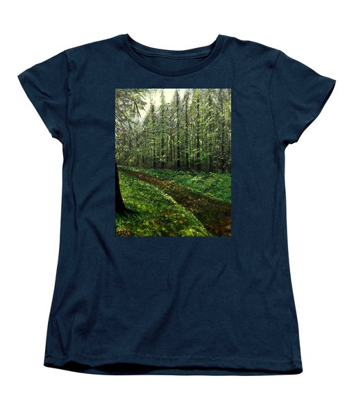 Are You Leaving Women's T-Shirt (Standard Cut) by Lisa Aerts