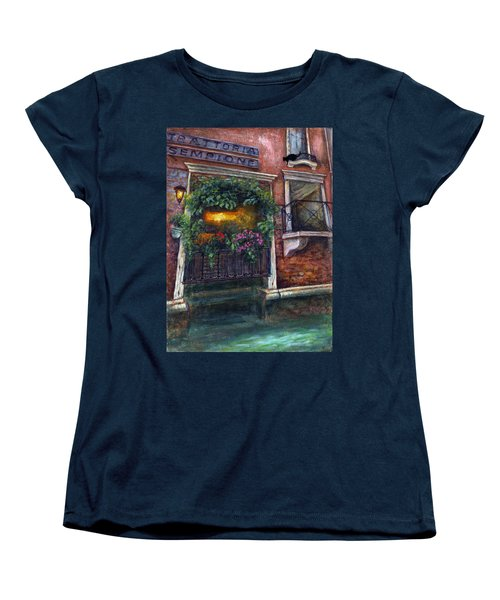 Are You There My Love? Women's T-Shirt (Standard Cut) by Retta Stephenson