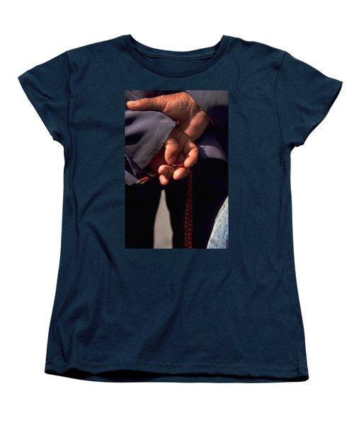 Armenian Prayer Beads Women's T-Shirt (Standard Cut)