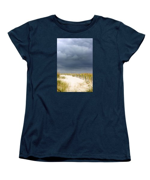 Women's T-Shirt (Standard Cut) featuring the photograph Around The Bend by Dana DiPasquale