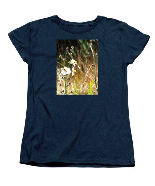 Arrowhead Blooms Women's T-Shirt (Standard Cut) by Audrey Van Tassell