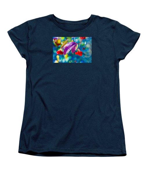 Women's T-Shirt (Standard Cut) featuring the photograph Arrowwood Beauty by Alexander Senin