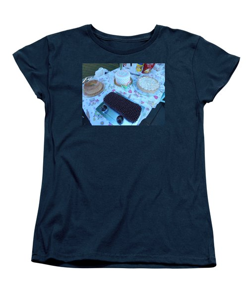 Women's T-Shirt (Standard Cut) featuring the photograph Art And Food by Beto Machado