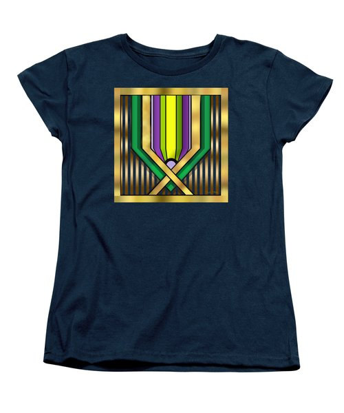 Art Deco 14 A Transparent Women's T-Shirt (Standard Cut) by Chuck Staley
