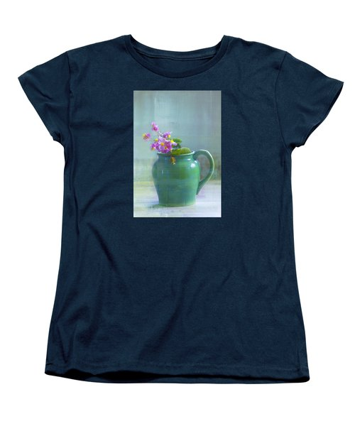 Women's T-Shirt (Standard Cut) featuring the photograph Art Of Begonia by John Rivera