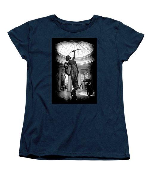Women's T-Shirt (Standard Cut) featuring the photograph Artemis At Huntington Library by Lori Seaman