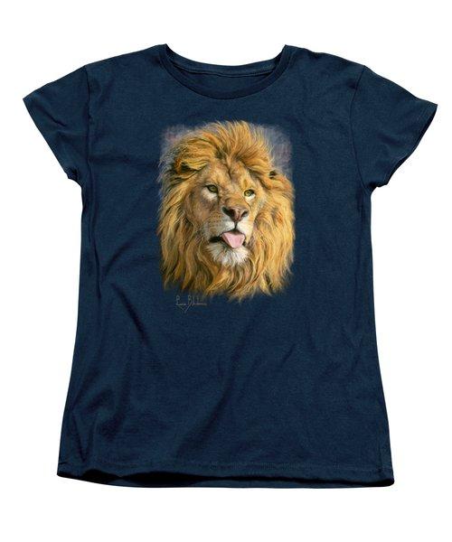 Silly Face Women's T-Shirt (Standard Cut) by Lucie Bilodeau